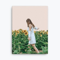 Lost in Sunflowers Canvas