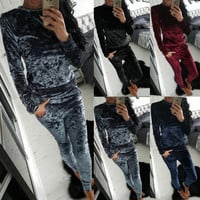 KAYWIDE 2016 Women Sets Series Fashion Home Wear Autumn New Style Long Tracksuit For Women A16901
