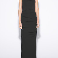 Carly Jersey Gown - BK