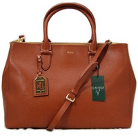 LAUREN Ralph Lauren Newbury Double Zipper Satchel