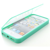 For Apple iPhone 5 6TH GEN TPU Wrap Up Case Cover w/ Built in Screen Protector