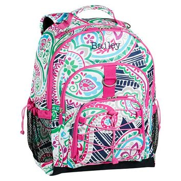 Gear-Up Preppy Surf Paisley Backpack