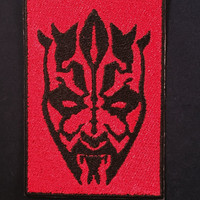 DARTH MAUL - Sith Lord - Star Wars Patch