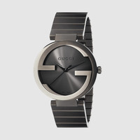 Gucci Interlocking extra large PVD watch