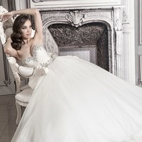 KleinfeldBridal.com: Pnina Tornai: Bridal Gown: 32848194: Princess/Ball Gown: Empire Waist