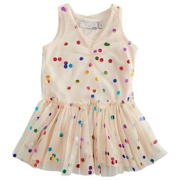 Stella McCartney Kids Polka Dot Tutu Dress & Bloomers | AlexandAlexa