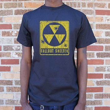 Mens Fallout Shelter T-Shirt