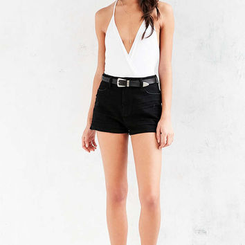Silence + Noise Ava Surplice Tank Top - Urban Outfitters