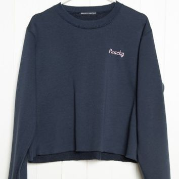 NANCY PEACHY SWEATSHIRT