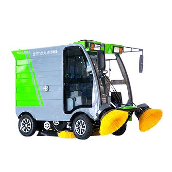 Electric Road Sweepers Vehicle