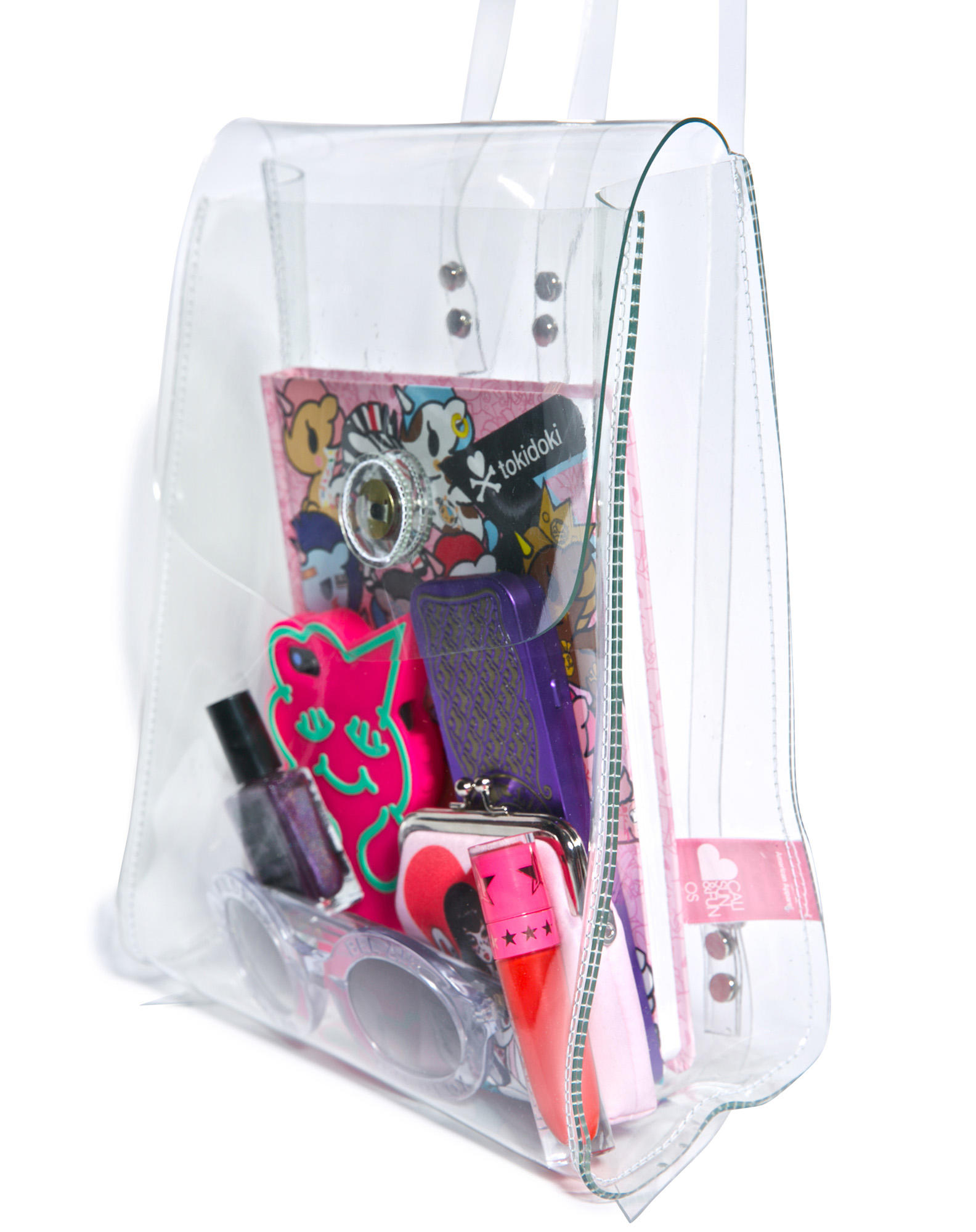 84ce2cf923c3 American Apparel Clear Mini Backpack One from Dolls Kill