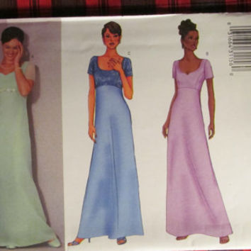 SALE Uncut Butterick Sewing Pattern, 6467! Small/Medium/Large/Plus Women's/Misses, Formal Gown/Dress/Bridesmaid Dresses/Wedding Dresses/Prom