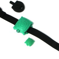 Safety Turtle Wristband, Green