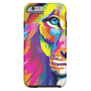 Colorful Lion Tough iPhone 6 Case