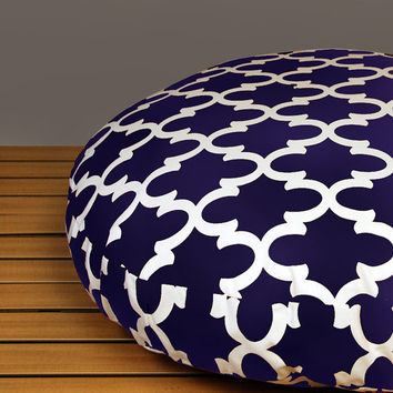 Medium Round Trellis Dog Bed with Insert - Pick your color - Pick your size - Free Shipping