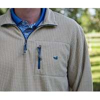 FieldTec Dune Pullover in Tan with Slate by Southern Marsh