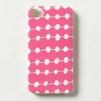 Anthropologie - Dotted Pink iPhone 4 Case