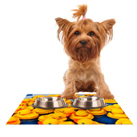 "Maynard Logan ""Duckies"" Dog Place Mat"