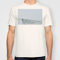 morning surf T-shirt by RichCaspian
