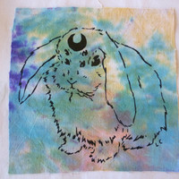 USAGI MOON Bunny Patch