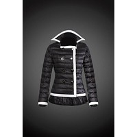 Moncler reduced Dali low collar quilted down jacket for women black