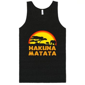 No Worries Tree of Life Hakuna Matata Tank Top