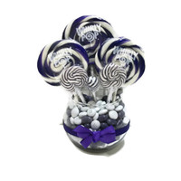 Small Lollipop Centerpiece (Purple)