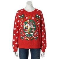 Looney Toons Ugly Christmas Sweatshirt - Juniors