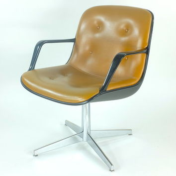mid century mod steelcase office chair