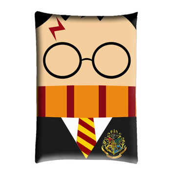 "Harry Potter Cute Pillow Case cover 30"" X 20"""