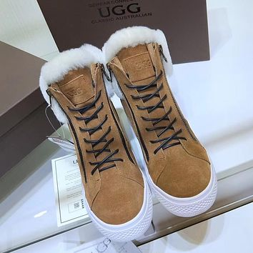 UGG Women Fashion Casual Flats Shoes Boots