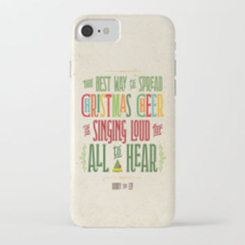 Buddy the Elf! World's Best Cup of Coffee iPhone Case by noondaydesign
