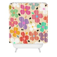 Garima Dhawan Dogwood Vintage Shower Curtain