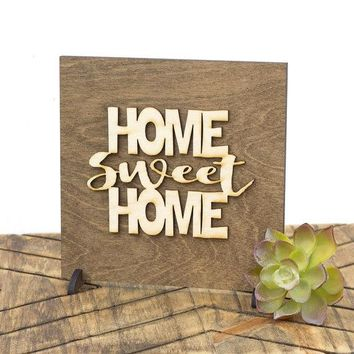 'Home Sweet Home' Housewarming Sign