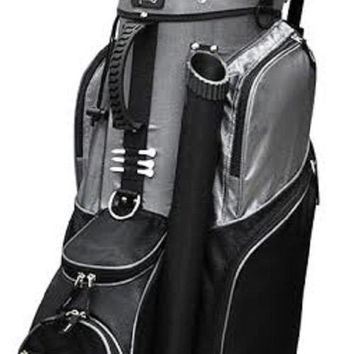 RJ Sports Spinner Golf Cart Bag Black FREE SHIPPING!