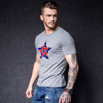 Men's Fashion Short Sleeve T-shirts [10488650179]