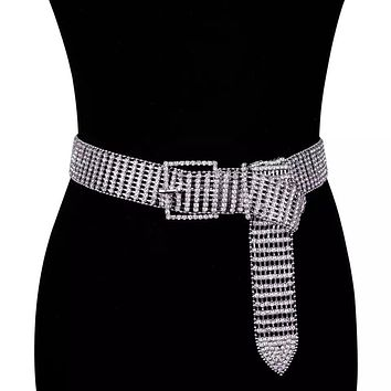 SUMMER Women's Bling Crystal Diamond Belt