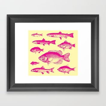 IN THE PINK Framed Art Print by Adorehandcrafted