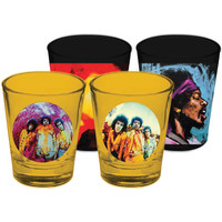 Jimi Hendrix - Shot Glass Set