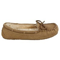 Bongo- -Women's Casual Moccasin Slipper Moxie - Tan-Shoes-Womens Shoes-Womens Slippers