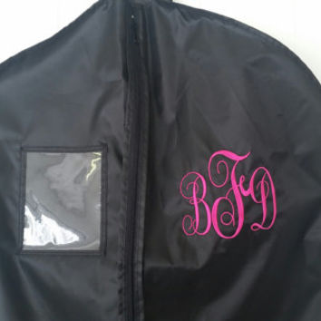 Garment Bags- Custom Garment Bags- Monogram- personalized bags- luggage garment bag- embroidered bag