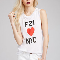 F21 Loves NYC Muscle Tee