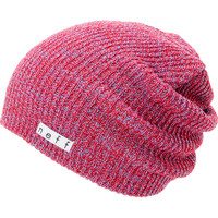 Neff Daily Heather Red & Blue Beanie  at Zumiez : PDP