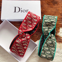 DIOR Fashion Embroidery Headband