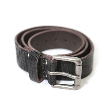 Brave Leather Ltd. Baxter Leather Belt in Black | Boutique To You