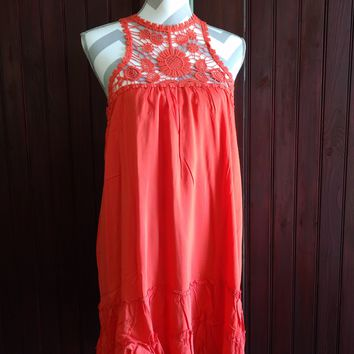 Orange Spark Tunic/Dress