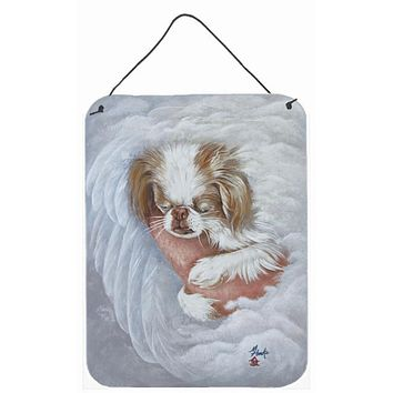 Japanese Chin in an Angels Arms Wall or Door Hanging Prints MH1037DS1216