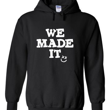 "Louis Tomlinson ""We Made It / Smile Logo"" Hoodie Sweatshirt"