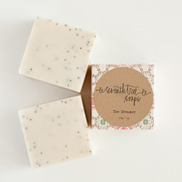 THE DREAMER - Lavender & Poppy Soap - Natural, Handmade, Cold Processed, Vegan