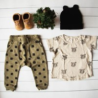 Rylee & Cru Bears Basic Tee